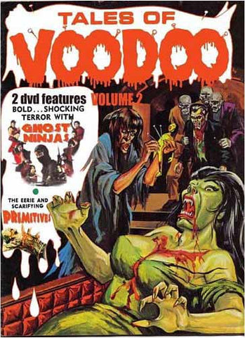 Tales of Voodoo (Vol. 2) - Ghost Ninja / Primitives DVD Movie