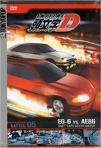 Initial D - Battle 5 - Duct Tape Death Match DVD Movie