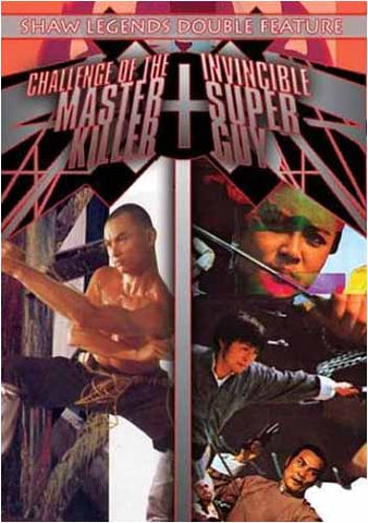 The Challenge of Master Killer/Invincible Super Guy DVD Movie