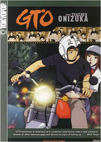 GTO - Great Teacher Onizuka - Accusations(Vol. 10) DVD Movie