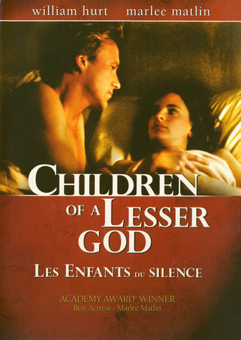 Children of a Lesser God (Bilingual) DVD Movie