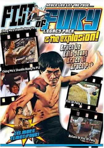 Fists of Fury - Legacy Pack DVD Movie