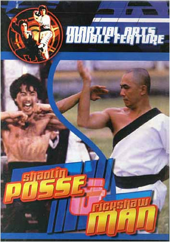 Shaolin Posse & Rickshaw Man DVD Movie