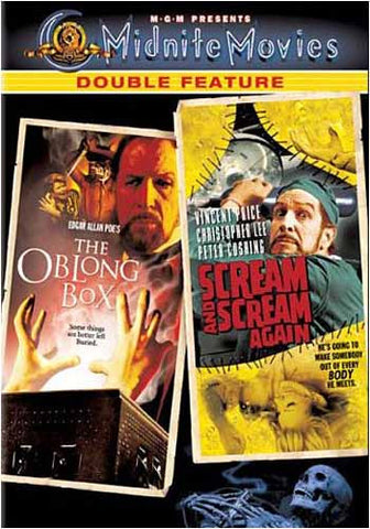The Oblong Box / Scream and Scream Again (1970) DVD Movie