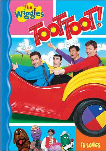 The Wiggles - Toot Toot! DVD Movie