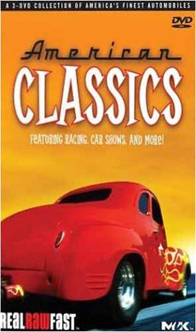 American Classics - (3 DVD Boxset) Featuring Racing, Car Shows And More DVD Movie