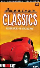 American Classics - (3 DVD Boxset) Featuring Racing, Car Shows And More