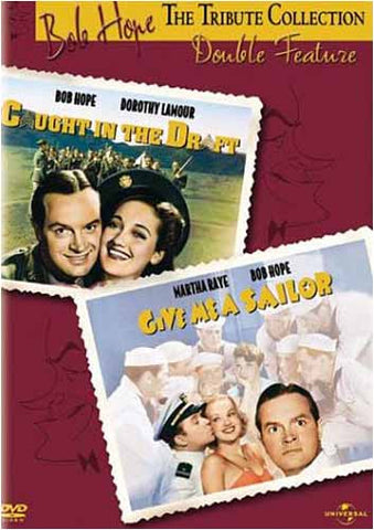 Bob Hope Tribute Collection - Caught in the Draft / Give Me a Sailor Double Feature DVD Movie