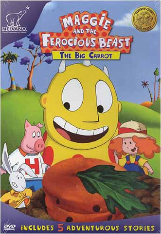 Maggie and the Ferocious Beast - The Big Carrot DVD Movie