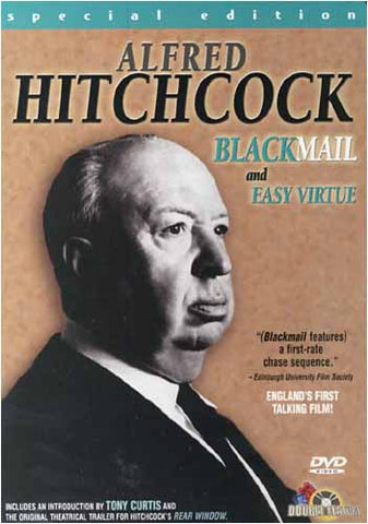 Alfred Hitchcock - Blackmail and Easy Virtue(Special Edition) DVD Movie
