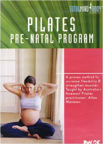 Pilates Pre-Natal Program (Do not sale) DVD Movie