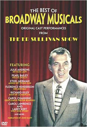 The Best of Broadway Musicals - Original Cast Performances from The Ed Sullivan Show DVD Movie