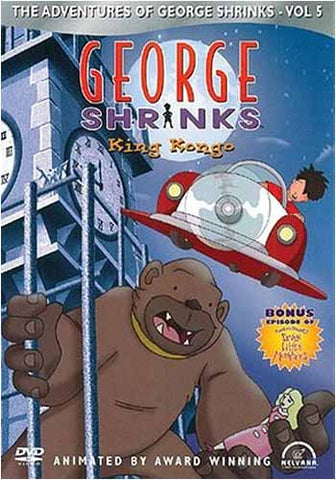 George shrinks - King Kongo DVD Movie