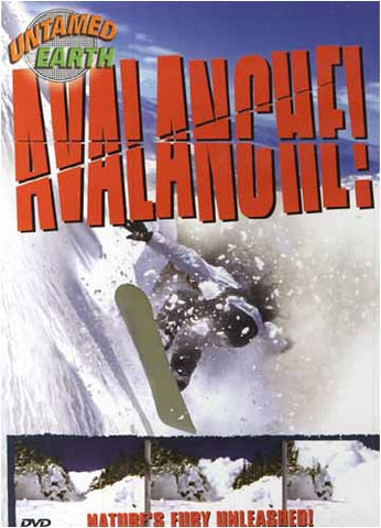 Untamed Earth : Avalanche! DVD Movie