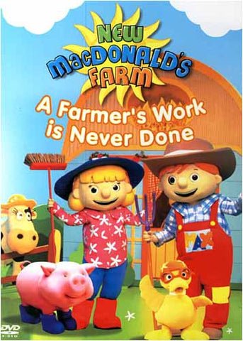 New MacDonald's Farm - A Farmer's Work is Never Done DVD Movie