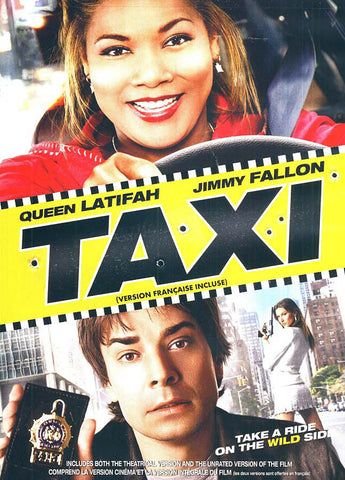 Taxi (Widescreen) (Queen Latifaf) (Bilingual) DVD Movie