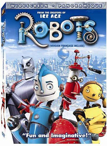 Robots- Widescreen (Bilingual) DVD Movie