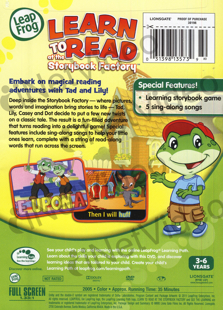 leap frog learn to read | eBay