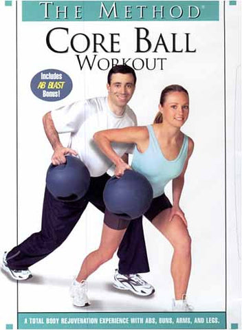The Method : Core Ball Workout (Fullscreen) DVD Movie