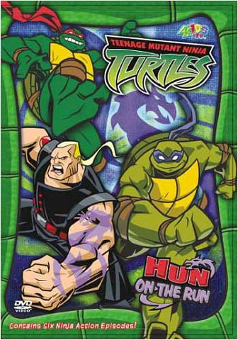Teenage Mutant Ninja Turtles - Hun on the Run - Season 3Vol.7 DVD Movie