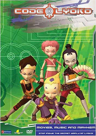 Code Lyoko -Movies, Music And Mayhem DVD Movie