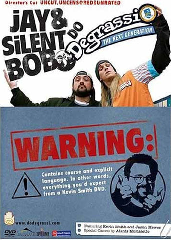 Jay and Silent Bob Do Degrassi The Next Generation (Director's CutUncut, Uncensored & Unrated) DVD Movie