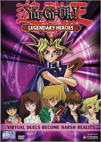Yu-Gi-Oh! - Legendary Heroes - Vol. 15 DVD Movie