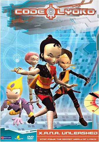 Code Lyoko - X.A.N.A. Unleashed - Vol.1 DVD Movie