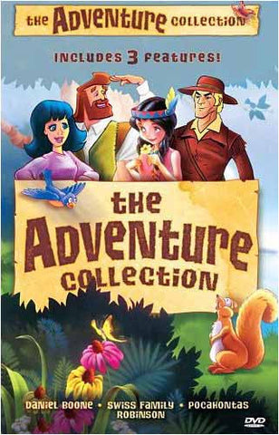 The Adventure Collection (Boxset) (USED) DVD Movie