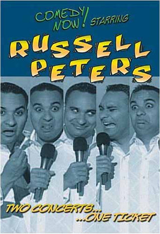 Russell Peters -Two Concerts...One Ticket DVD Movie