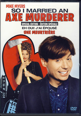 So I Married an Axe Murderer (Special Edition)(Bilingual) DVD Movie