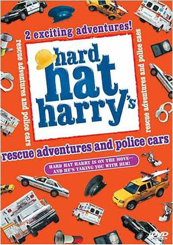 Hard Hat Harry s: Rescue Adventures and Police Cars DVD Movie