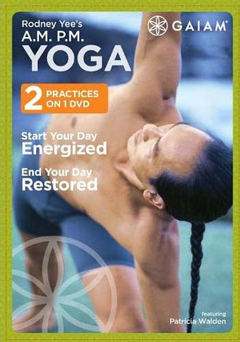 A.M. and P.M. Yoga (Rodney Yee) DVD Movie