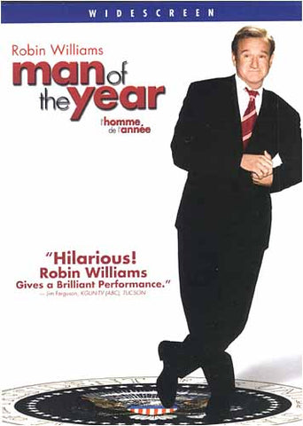 Man of the Year (Robin Williams) (Widescreen Edition) (Bilingual) DVD Movie