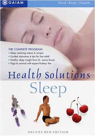 Health Solutions For Sleep DVD Movie