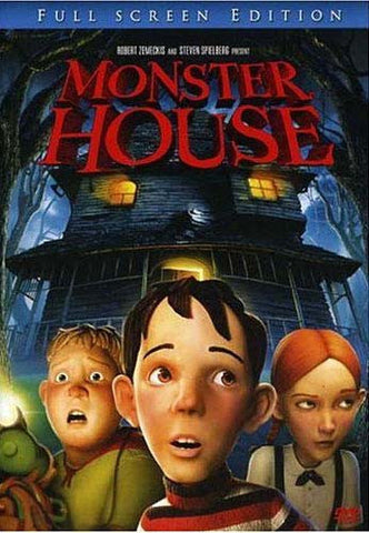Monster House (Full Screen) DVD Movie