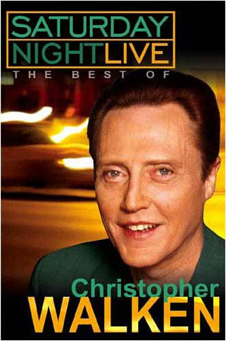 Saturday Night Live - The Best of Christopher Walken DVD Movie
