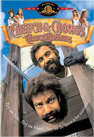 Cheech and Chong's - The Corsican Brothers DVD Movie