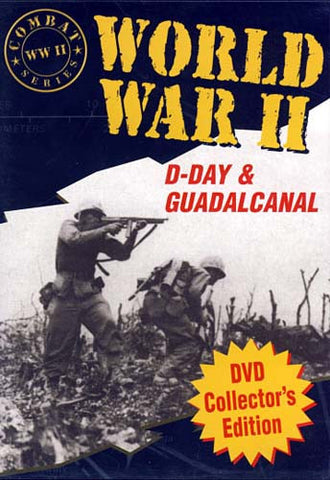 World War 2 - D-Day & Guadalcan DVD Movie