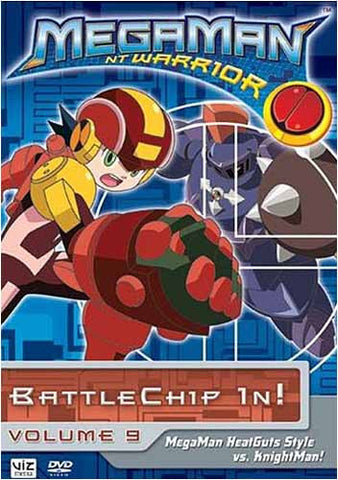 MegaMan NT Warrior - Battle Chip In!, - Volume 9 DVD Movie