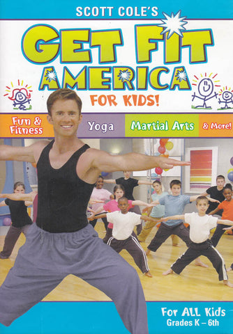 Get Fit America for Kids! (Scott Cole s) DVD Movie