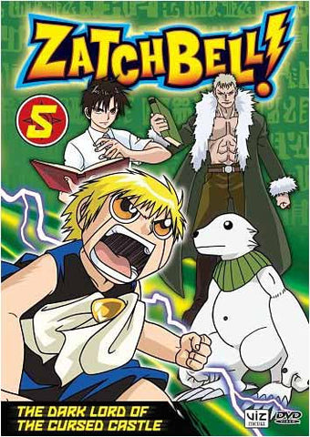 Zatch Bell!- Vol. 5 - The Dark Lord of the Cursed Castle DVD Movie