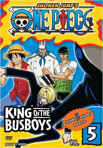 One Piece - King of the Busboys, Vol. 5 DVD Movie