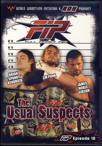 FIP - The Usual Suspects - World Wrestling Network Presents DVD Movie