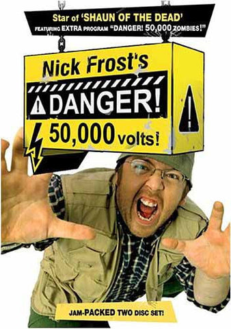 Nick Frost s Danger 50,000 Volts (Boxset) DVD Movie