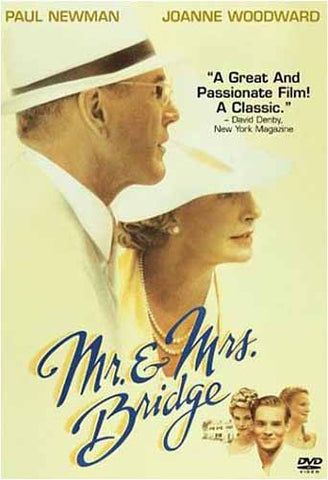 Mr. And Mrs. Bridge DVD Movie