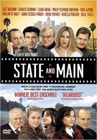 State and Main DVD Movie