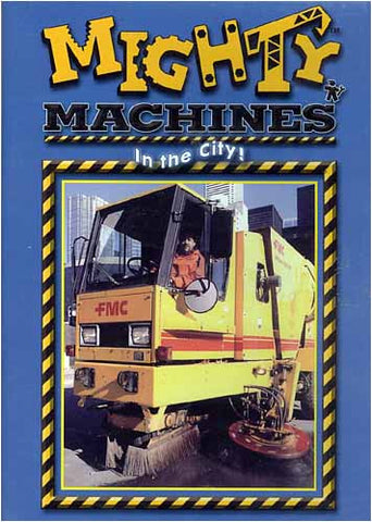 Mighty And Super Machines- In the City! DVD Movie