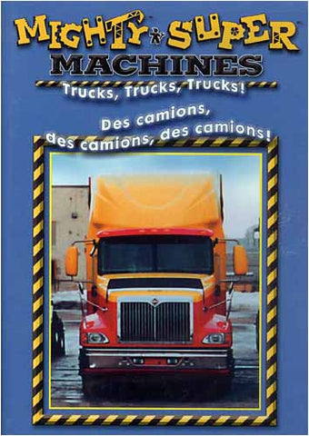 Mighty Machines - Trucks, Trucks, Trucks (Bilingual) DVD Movie