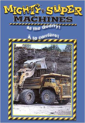 Mighty Machines - At the Quarry!(Bilingual) DVD Movie